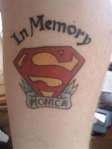 awesome superman tattoos designs