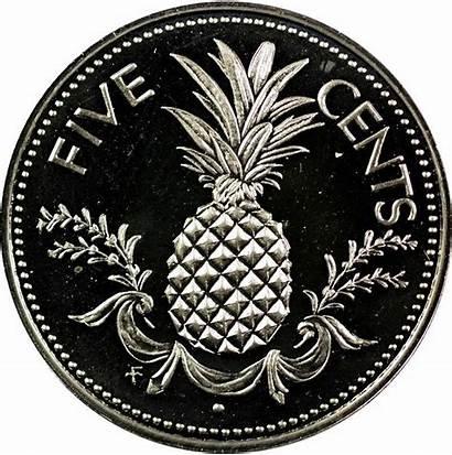 Bahamas Cents 1976 Five Coin Coins Club