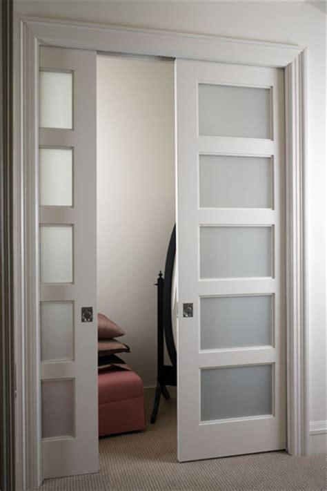 Doors For Closet by Pocket Door Hardware Bypass Pocket Door Hardware