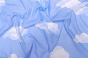 Voile Gardinen Meterware : voile wolken himmelblau ~ Markanthonyermac.com Haus und Dekorationen