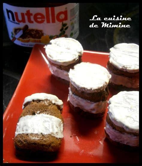 mini pots de nutella 224 d 233 vorer g 226 teau la cuisine de mimine