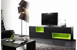 Meuble Salon Noir : meubles design 2013 ~ Teatrodelosmanantiales.com Idées de Décoration