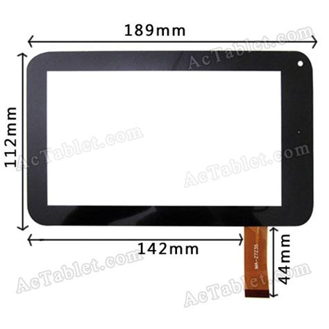 android tablet screen repair h ctp070 006fpc digitizer glass touch screen panel for 7