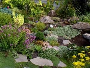 Plantes Vivaces Autour D Un Bassin : r ussir une rocaille ~ Melissatoandfro.com Idées de Décoration