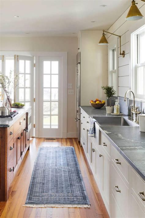 kitchen design visualiser tour this stunning waterfront farmhouse galley kitchens 1399