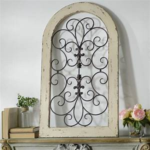 The cosette wall plaque is available in cream turquoise