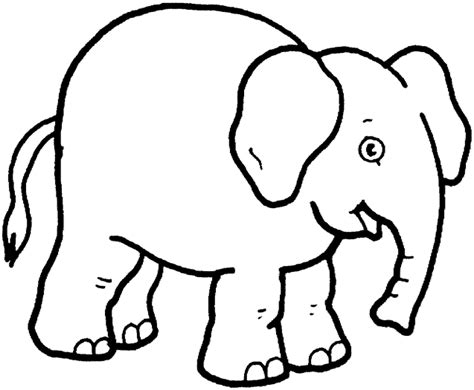 childrens piggy print teaching through elephant coloring