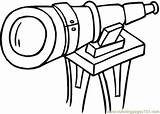 Telescope Coloring Pages Printable Optical Illusions Illusion Technology Google Space Coloringpages101 Theme Clipartmag Getdrawings Hagiographic sketch template