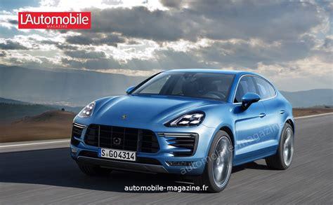 Le Futur Cayenne S'offre Une Version Coupé Dès 2018
