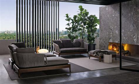 mobilier haut de gamme contemporain mobilier lounge haut de gamme la collection indiana par minotti
