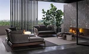 Loungemöbel Holz Outdoor : luxus garten loungem bel indiana kollektion von minotti ~ Michelbontemps.com Haus und Dekorationen