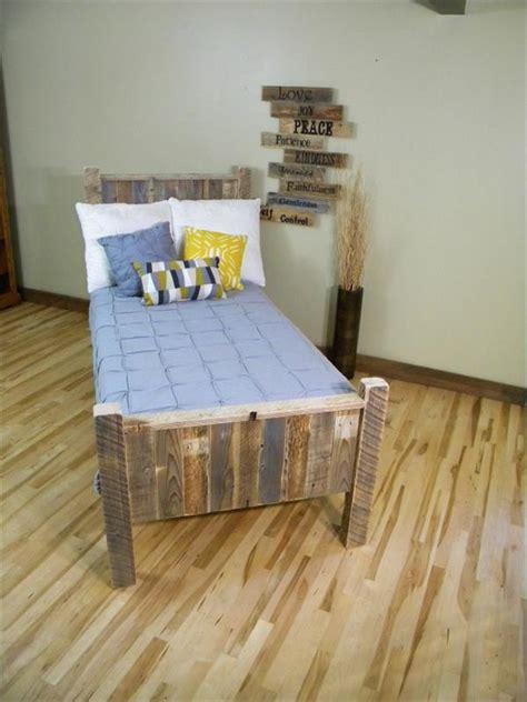 diy pallet bed pallet furniture plans