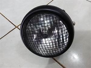 Jual Lampu Bulat Depan Cb    Head Lamp Cb   Cover Jaring   Di Lapak Aleale Aleale Toserba