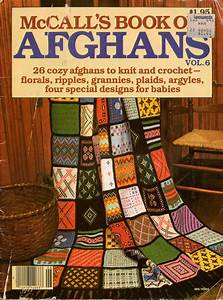 Mccalls Afghans Knitting Crochet Patterns Patchwork Baby