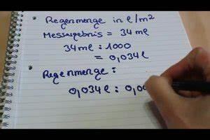 Wasserdruck Berechnen : video regenmenge berechnen so geht 39 s ~ Themetempest.com Abrechnung