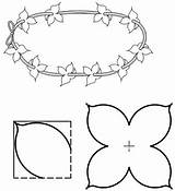 Lei Flower Pattern Printable Templates Craft Activities Coloring Pages Texas Patterns Games sketch template