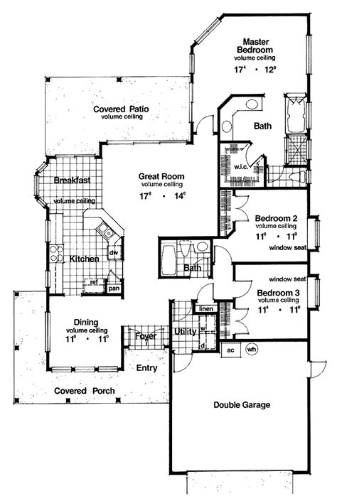 plans for a house house plans for a narrow lot cottage house plans