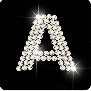 """A   Diamond letter A for iPhone   """"A"""" is for Angie   Pinterest"""