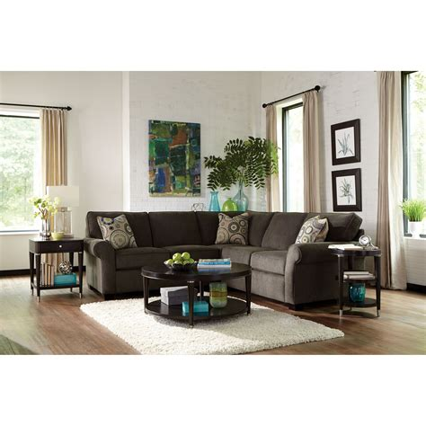 broyhill ethan sectional broyhill furniture ethan two sectional with corner