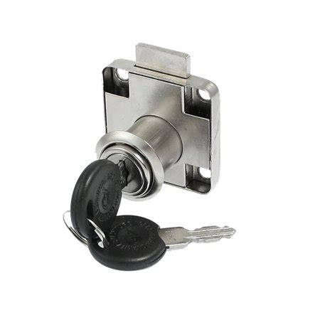 flange mount cam locking metal cabinet lock lockset