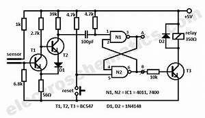4011 circuits With humidity control switch circuit