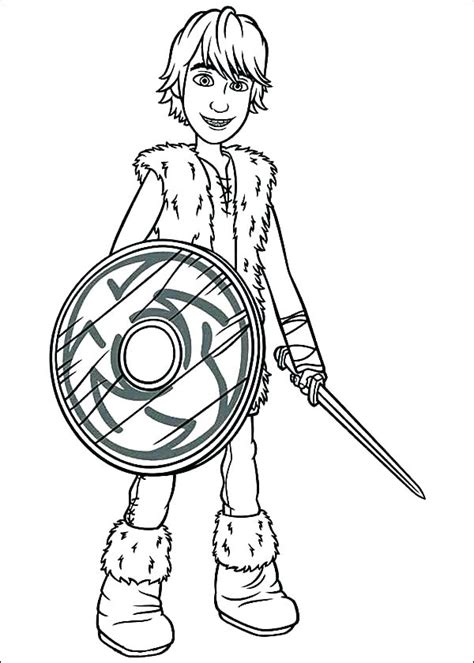 hiccup  fighter coloring page  printable coloring pages  kids