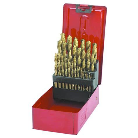 titanium drill bit set  pc titanium nitride drill