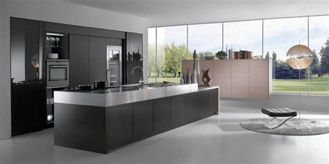 cuisine moderne et noir cuisine contemporaine haut de gamme avec grand ilot centra flickr