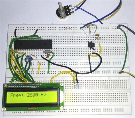 Microcontroller Based Frequency Counter