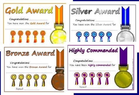 award certificates ideas  pinterest award