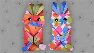 Origami Osterhase Faltanleitung Einfach : origami osterhase leicht easter bunny faltanleitung live erkl rt youtube ~ Watch28wear.com Haus und Dekorationen