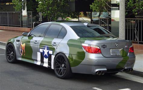 irony bmw   ww  air force paintjob