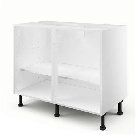 cuisine pas cher leroy merlin caisson de cuisine bas b100 ab100 delinia blanc l 100 x h