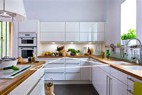 base de la cuisine cuisine les règles de base pour aménager sa cuisine