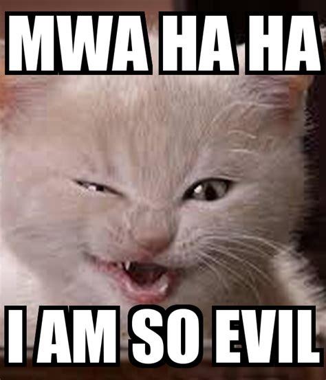 Ha Ha Meme Mwa Ha Ha I Am So Evil Poster Unicorngirl9090 Keep