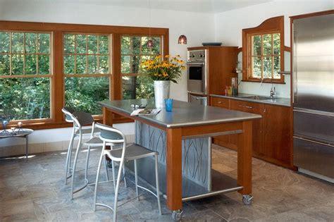 stainless steel kitchen work table island increased kitchen functionality stainless steel work tables