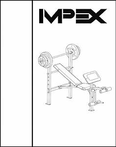 Download Impex Fitness Equipment Mwb 214 Manual And User