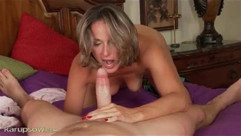 Sexy Mom Gives A World Class Blowjob Porn Tube