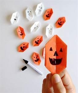 Deco Halloween A Fabriquer : origami facile 100 animaux fleurs en papier et d co maison ~ Melissatoandfro.com Idées de Décoration