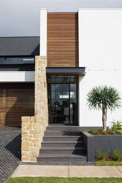 fachadas de casas de piedra  ladrillo  decoracion de