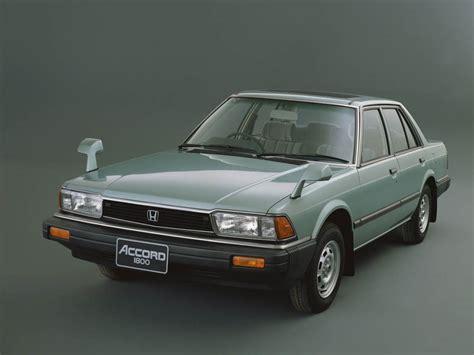 Honda Accord Ex R Sedan 1982 1985 Design Interior