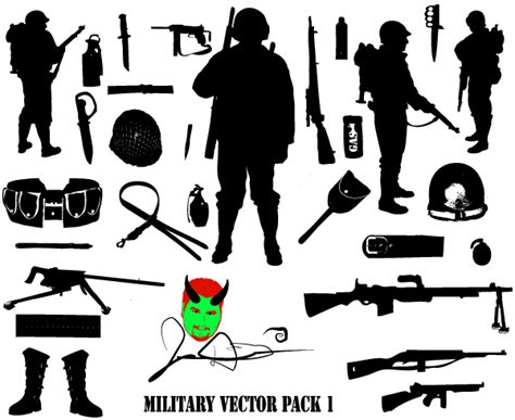You can download this svg images for free. Free Military Vector Silhouettes Download   Download Free ...
