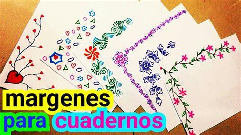Next may be the photo about margen decoraciones para hojas faciles that you could produce an insight. Margenes Para Decorar Hojas Blancas A Mano - Decoración De ...