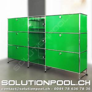 Usm Second Hand : usm sideboard gr n solutionpool first class second hand for home and office ~ Sanjose-hotels-ca.com Haus und Dekorationen
