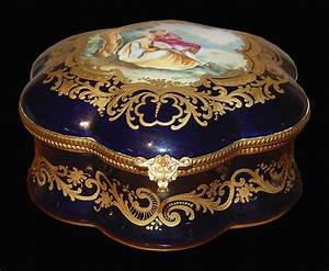 French Sevres Chateau de Blois Box For Sale Antiques com