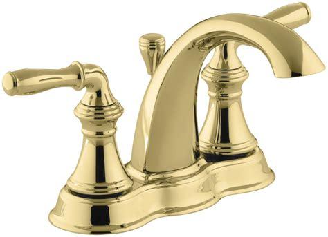 Kohler Devonshire Faucet Aerator by Kohler K 393 N4 Pb Vibrant Polished Brass Devonshire