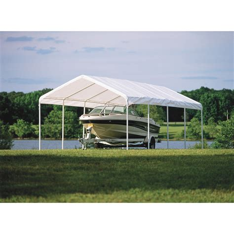 Shelterlogic Super Max Commercial Outdoor Canopy — 26ftl