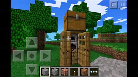 minecraft pocket edition chicken farm smallest house