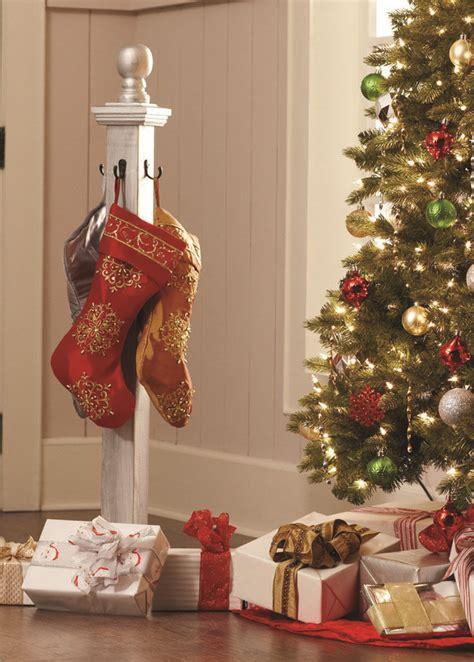 diy stocking holder  home depot workshops diy