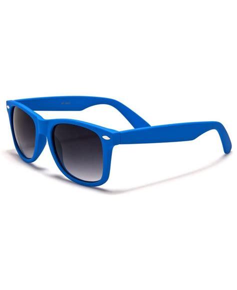 lunette style wayfarer bleu fonc 233 lunettes vintage bleu fonc 233